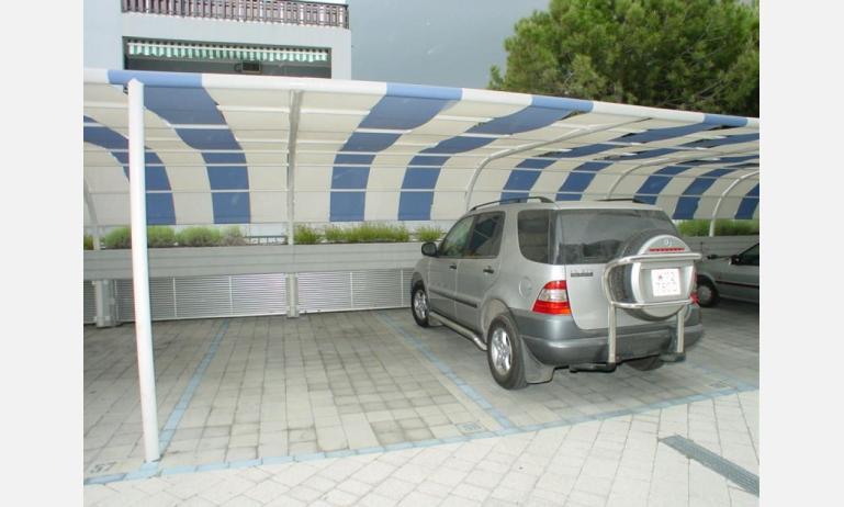 appartamenti TERME: posto auto (esempio)