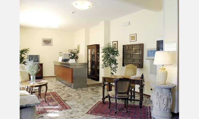 hotel VILLA D'ESTE: ricevimento