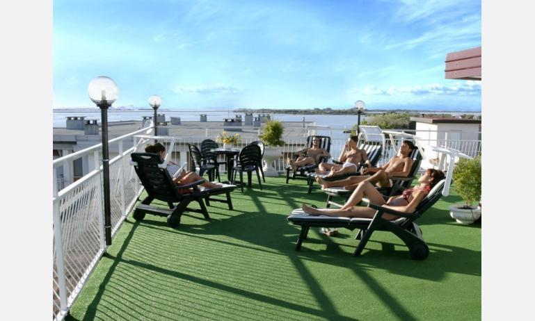 hotel VILLA D'ESTE: solarium