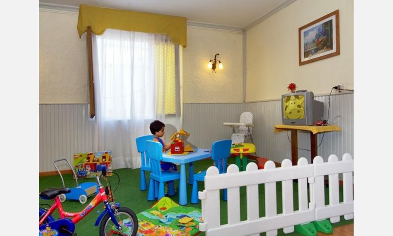 hotel VILLA D'ESTE: area giochi