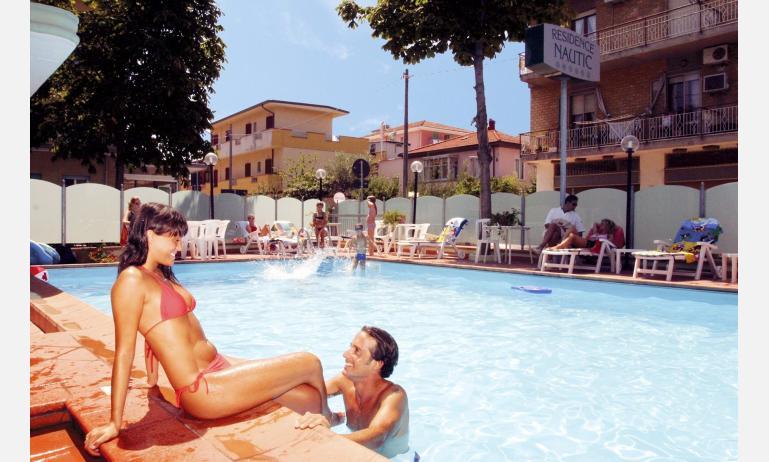 residence NAUTIC: piscina