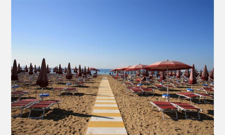 residence MEERBLICK: spiaggia privata
