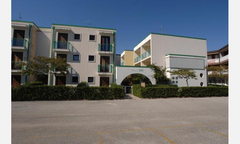 Residence LIA: Parkplatz