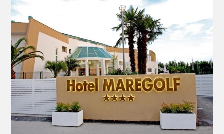 hotel MAREGOLF: ingresso