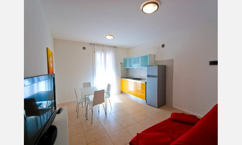 appartamenti AL MARE: soggiorno (esempio)