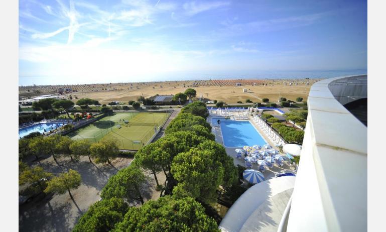 Hotel CORALLO: Panoramablick