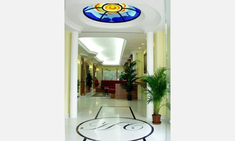 hotel COPPE: hall