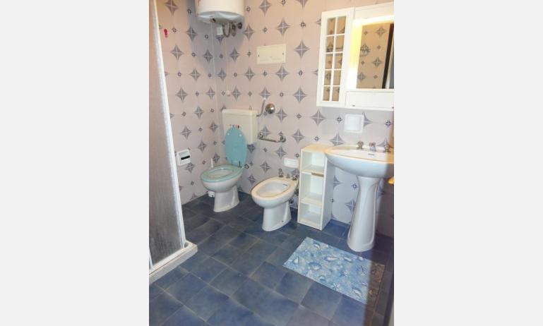 appartamenti AURORA: bagno (esempio)
