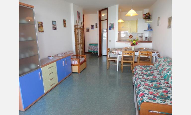 appartamenti MIRAMARE: soggiorno (esempio)