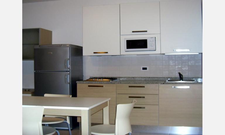 appartamenti ZENITH: angolo cottura rinnovato (esempio)