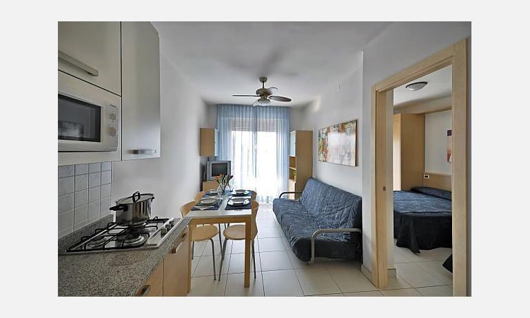 appartamenti ZENITH: soggiorno rinnovato (esempio)
