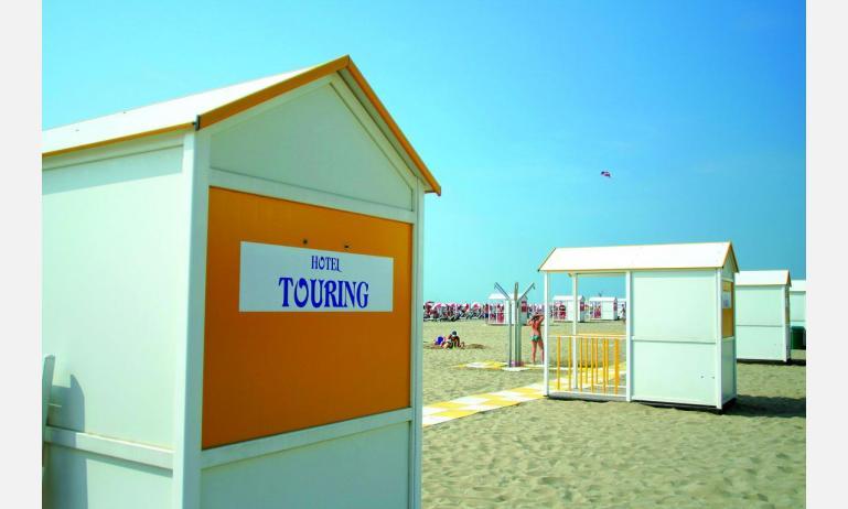 hotel TOURING: settore privato spiaggia