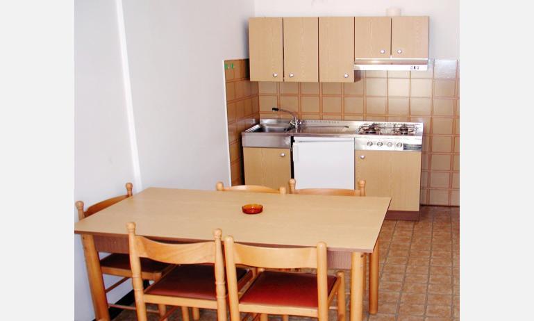 appartamenti HOLIDAY: angolo cottura (esempio)