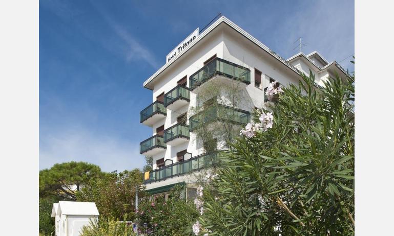 hotel TRITONE: esterno hotel