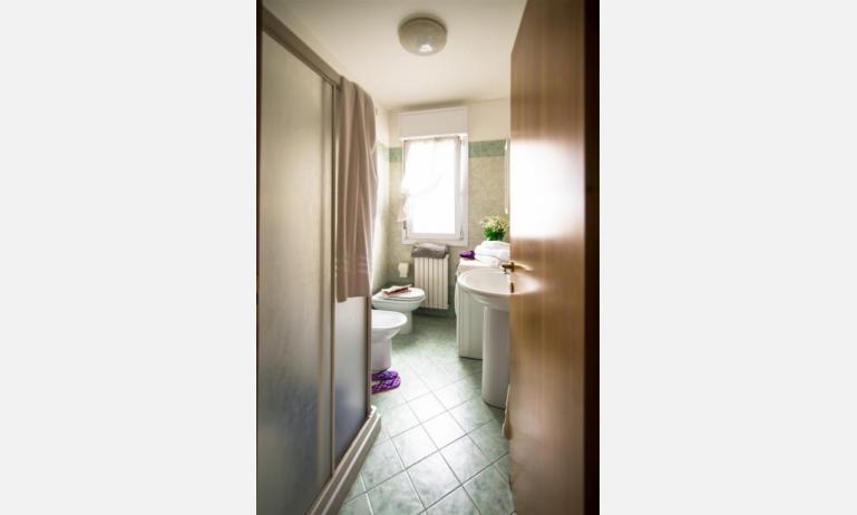 appartamenti RESIDENCE PLAYA: C7 - bagno con box doccia (esempio)