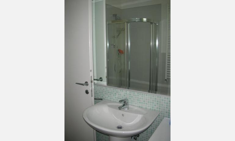 residence LE PALME: C6 - bagno con box doccia (esempio)