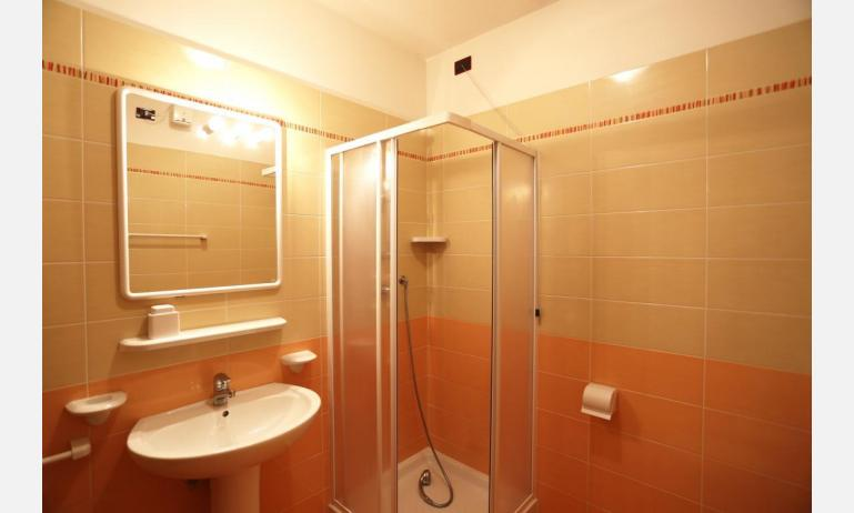 residence AI PINI: B5V - bathroom with a shower enclosure (example)