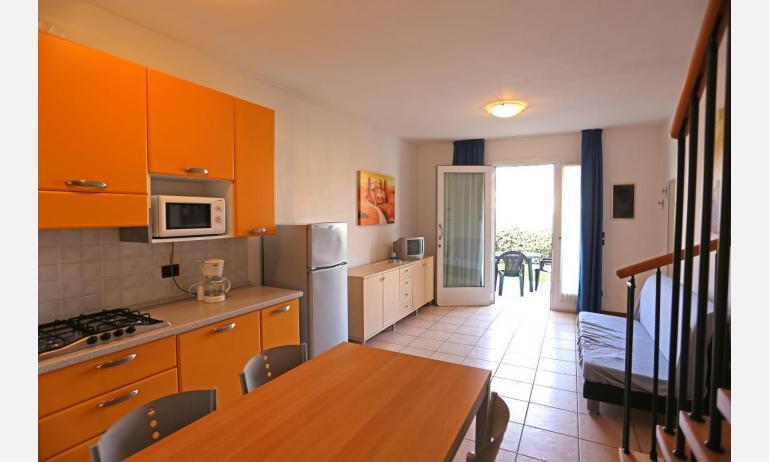 résidence AI PINI: B5V - coin cuisine (exemple)