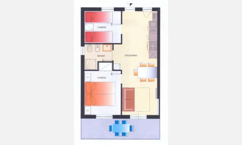 Residence MEERBLICK: C5 - Planimetrie