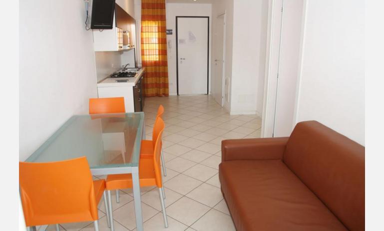 residence MEERBLICK: C5 - divano letto singolo (esempio)