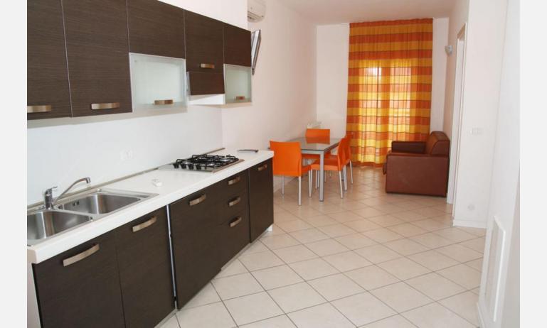 Residence MEERBLICK: C5 - Kochnische (Beispiel)