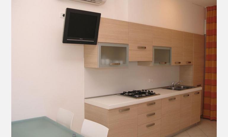 residence MEERBLICK: C5 - cucina (esempio)
