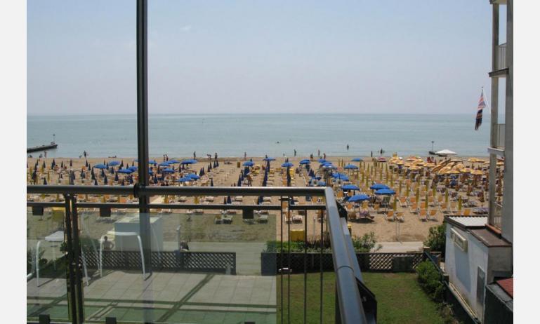 residence MEERBLICK: C5 F - da balcone vista mare frontale (esempio)