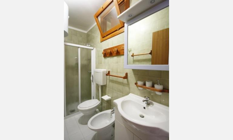residence ITACA: B6* - bathroom with a shower enclosure (example)