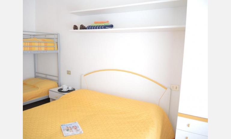 residence ITACA: B6* - bedroom with bunk bed (example)