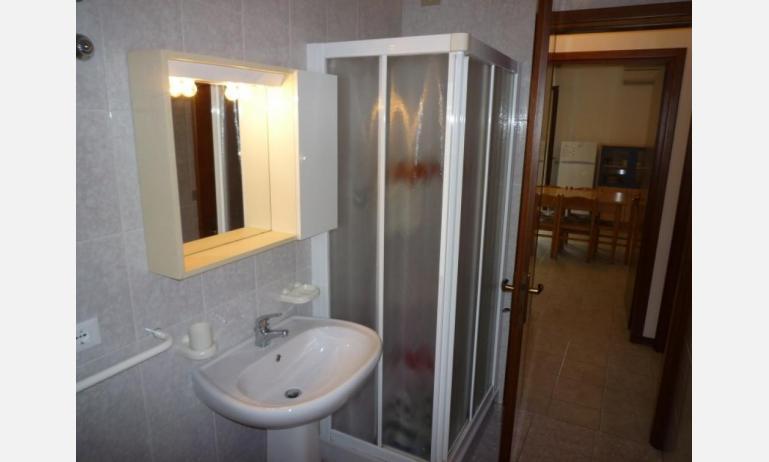 residence NUOVO SILE: C6 - bagno con box doccia (esempio)