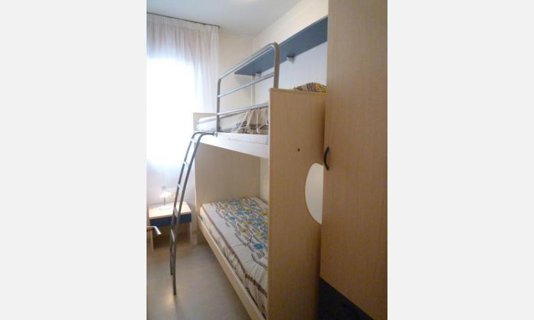 appartamenti LARA: C4 - letto a castello (esempio)