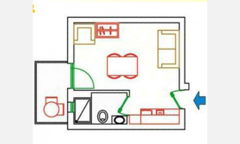 residence KATJA: A3 - planimetry
