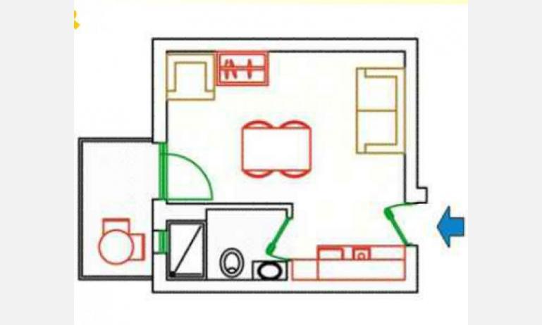 residence KATJA: A3/M - planimetry