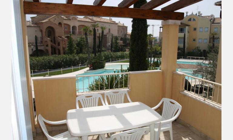 Residence MEDITERRANEE: B4/5 - Balkon mit Aussicht (Beispiel)