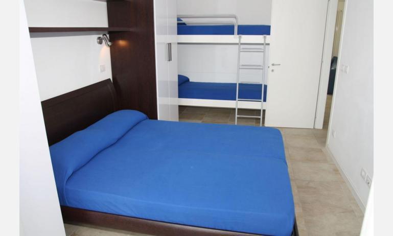 Residence MEDITERRANEE: B4/5 - Vierbettzimmer (Beispiel)