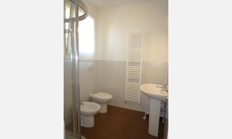 residence LE PALME: D7/X - bagno con box doccia (esempio)