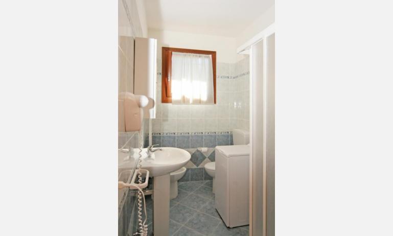 residence VILLAGGIO DEI FIORI: C6 - bagno con box doccia (esempio)