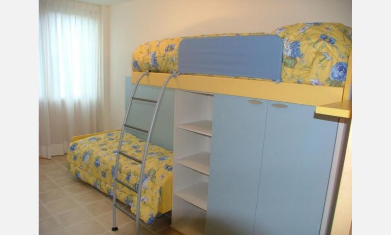 residence MIRAGE: C5 - camera con letto a castello (esempio)
