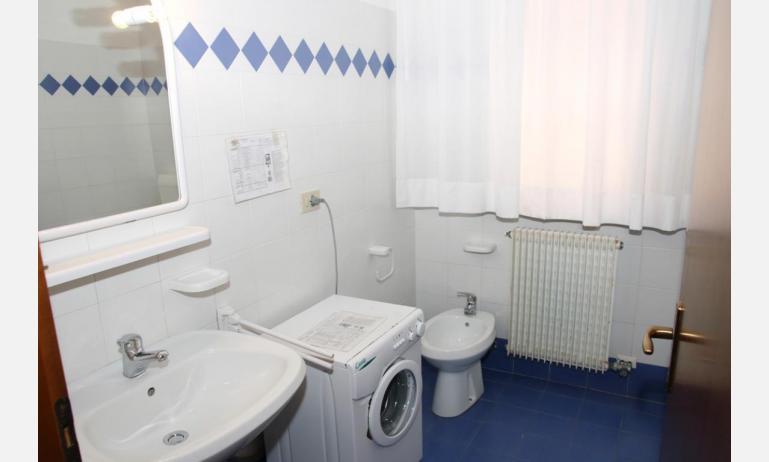 appartamenti VILLA MAZZON: C5T - bagno con lavatrice (esempio)