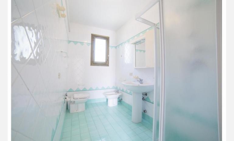 residence PORTO SOLE: D6 - bagno con box doccia (esempio)