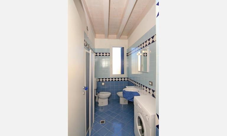 appartamenti STEFANIA: B4 - bagno con lavatrice (esempio)