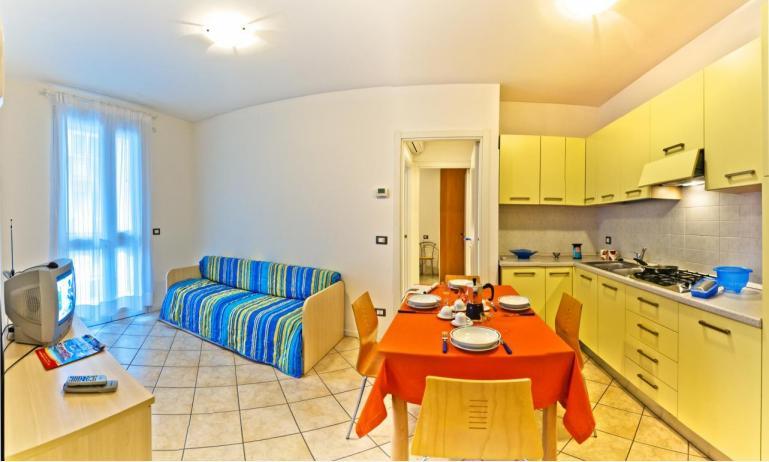 appartamenti STEFANIA: B4 - zona giorno