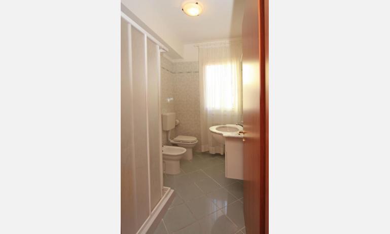 residence ROBERTA: C8s - bagno con box doccia (esempio)