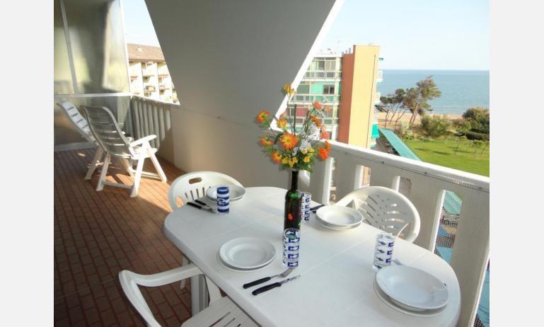 appartamenti MARCO POLO: B5 - balcone con vista (esempio)