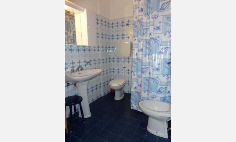 appartamenti MARCO POLO: C6/7 - bagno con tenda (esempio)