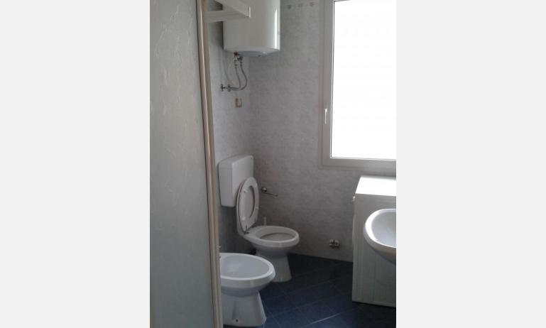 appartamenti LE SOLEIL: B5 - bagno con lavatrice (esempio)