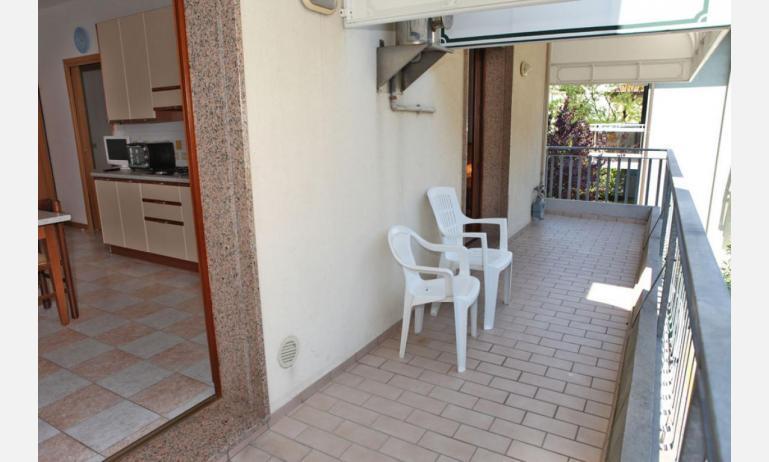 appartamenti MINERVA: C7 - terrazzo al primo piano (esempio)